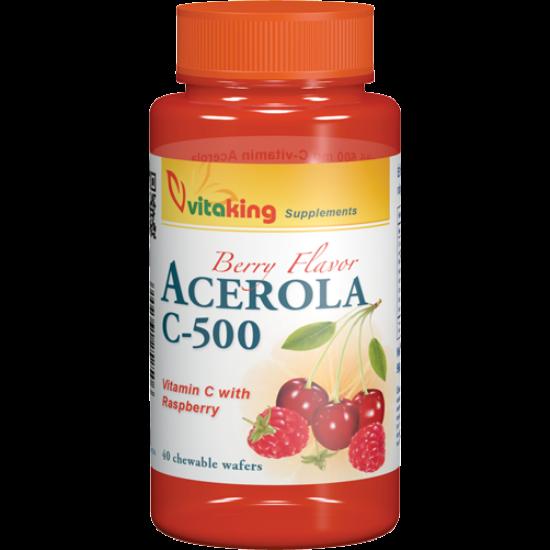 Acerola C-500 rágótabletta (40) gyerekeknek