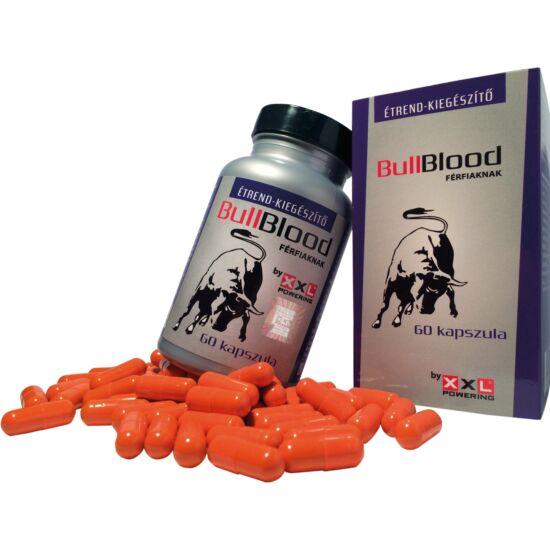 BullBlood - étrendkiegészítő kapszula férfiaknak (60db)