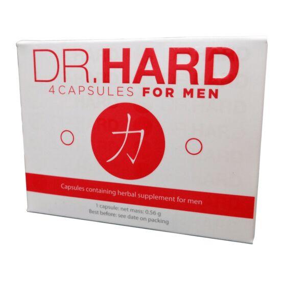 Dr. Hard - kapszula férfiaknak (4db)