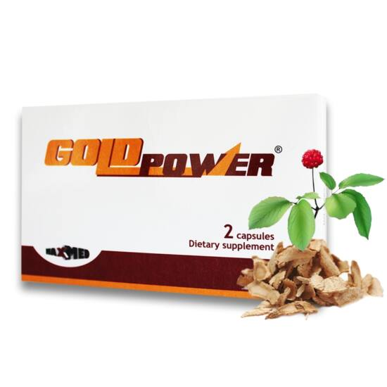 Gold Power - kapszula férfiaknak (2db)