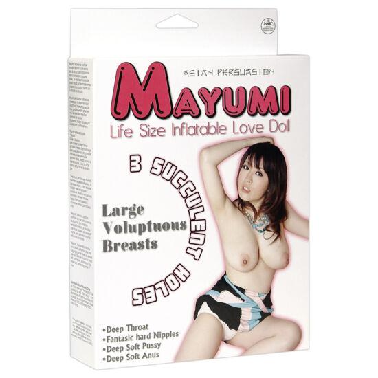 Ölelő Mayumi guminő