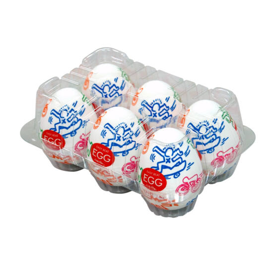TENGA Keith Haring - Egg Street Variety (6db)