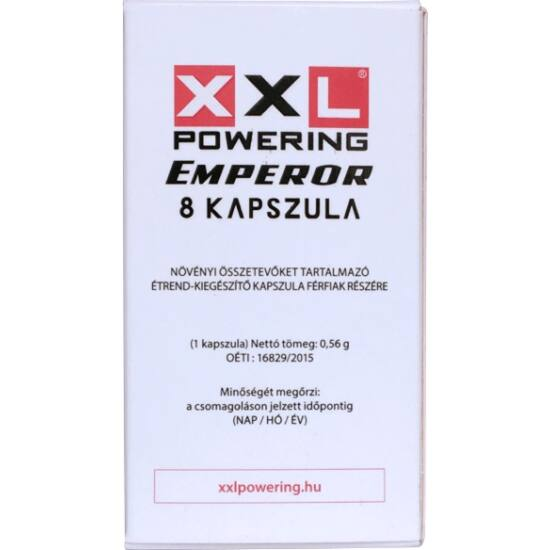 XXL powering étrend-kiegészítő kapszula (8db)