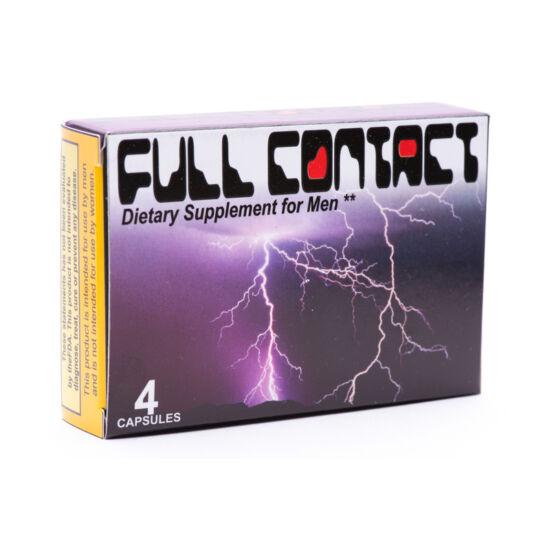 Full Contact For Men Potencianövelő (4 kapszula)
