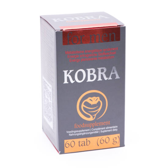 Kobra For Men Potencia Növelés (60 db)