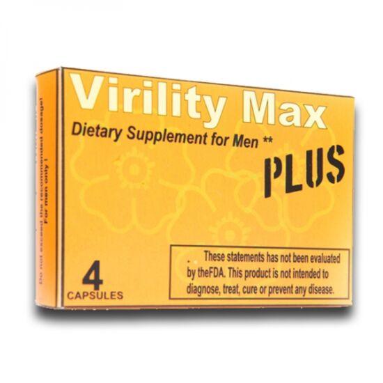 Virility Max Plus Potencianövelő (4 kapszula)