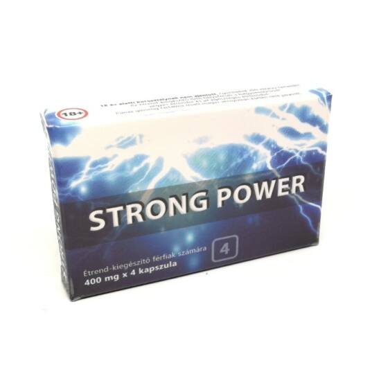 Strong Power Potencianövelő (4db)