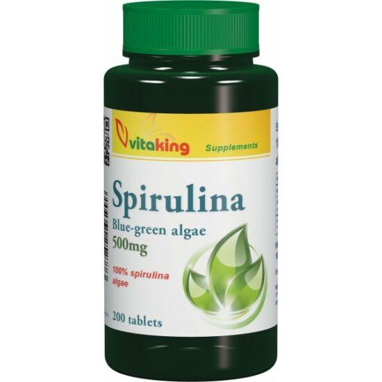 Spirulina alga tabletta (200db)