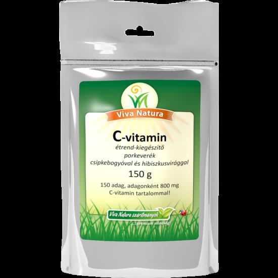 C-vitamin por (+csipkebogy hús +hibiszkus virág)
