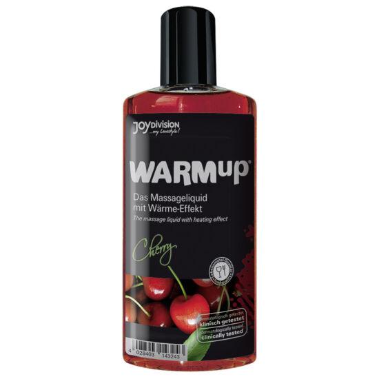 Melegítő hatású masszázsolaj cseresznye (150ml)